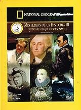 NATIONAL GEOGRAPHIC [MISTERIOS DE LA HISTORIA 3] [HISTORY'S SECRETS 3] VOL.1 CAZANDO AL ASESINO ANTRAX/EL AUTENTICO GEORGE WASHINGTON & VOL.2 LA VIDA SECRETA DE CHARLES LINDBERGH/ELIZABETH I LA REINA VIRGEN & VOL.3 DB COOPER EL AEROSECUESTRADOR/LA FUGA DE ALCATRAZ.[NTSC/REGION 1 & 4 DVD. Import-Latin America]