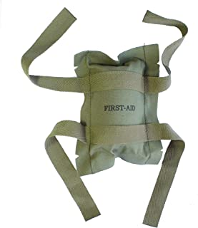 Reproduction of US Army Airborne Parachute First Aid Pouch Bag M1 M2 Helmet Paratrooper Use 1:1 Scale