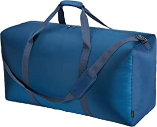 32.5 inch Extra Large Travel Duffel Bag,Oversized Luggage Duffel 9 Color Choices (Blue)