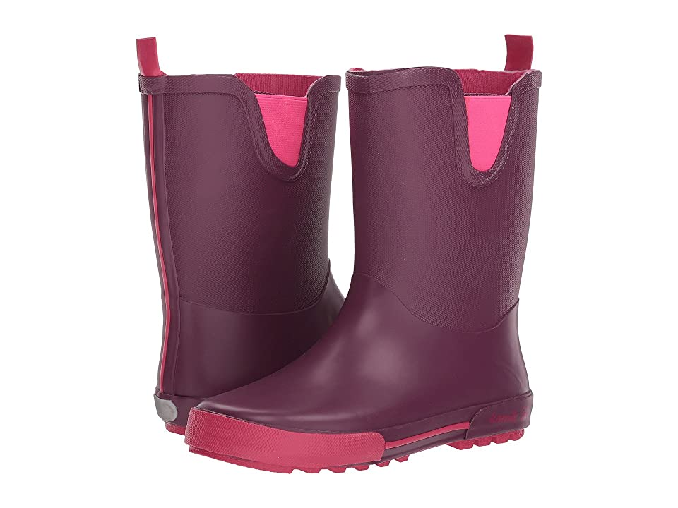 Kamik Kids Rainplay (Little Kid) (Dark Purple) Girls Shoes