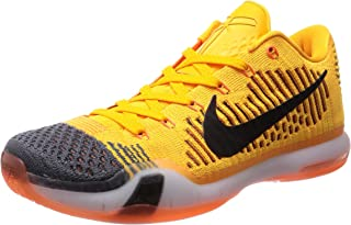 kobe shoes orange black