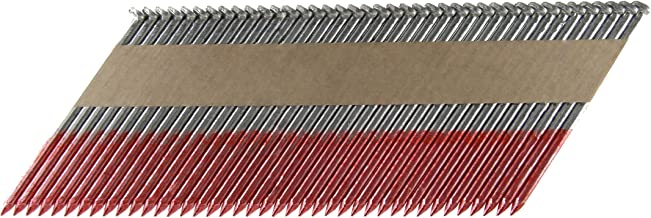 B&C Eagle A312X131HD/33 Offset Round Head 3-1/2-Inch x .131 x 33 Degree Hot Dip Galvanized Smooth Shank Paper Tape Collated Framing Nails (500 per box)