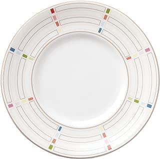 Lenox Entertain 365 Sculpture Confetti Dessert Plates (Set of 4), Multicolor