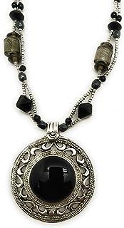 DCA Brass Glass Women Necklace