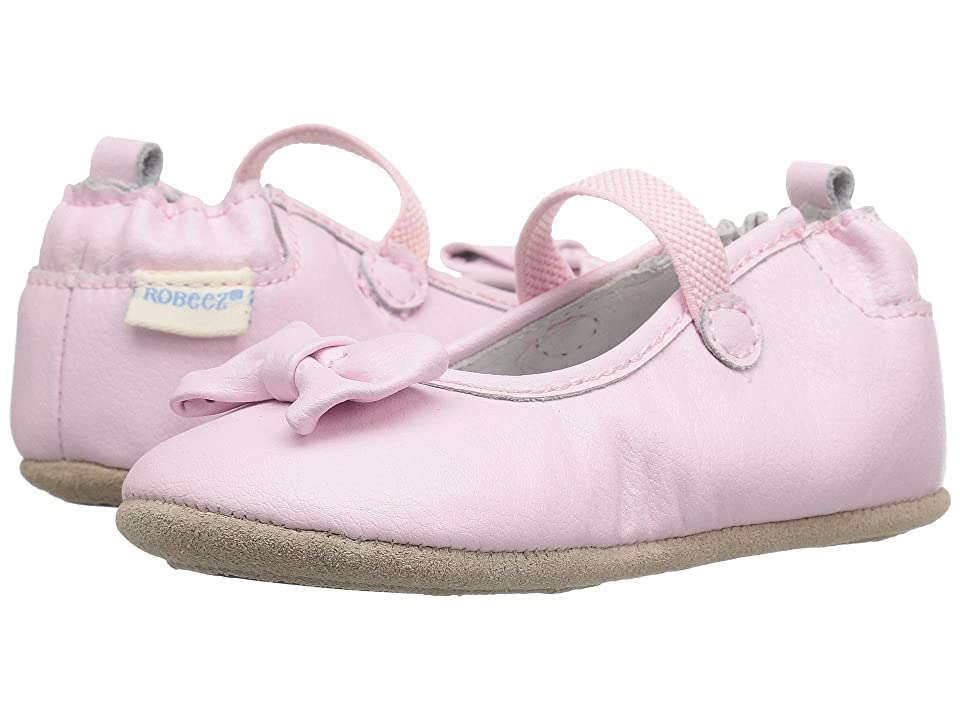 655d73a8d5c14 Robeez Penny Mini Shoez (Infant Toddler) (Light Pink) Girls Shoes