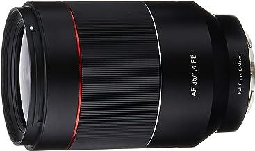 Samyang SYIO3514-E AF 35mm f/1.4 Auto Focus Wide Angle Full Frame Lens for Sony FE Mount, Black