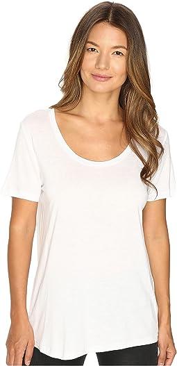 The Kooples - T-Shirt Basique Manche Courtes Jersey