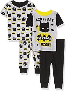 DC Comics Boys 3 Piece Jersey Pajama Set