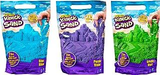 KINETIC SAND - RECHARGE COULEUR BLEU 900 G de sable - Sable Cinétique et Coloré - Alternative Pâte à Modeler - JOUET ENFAN...