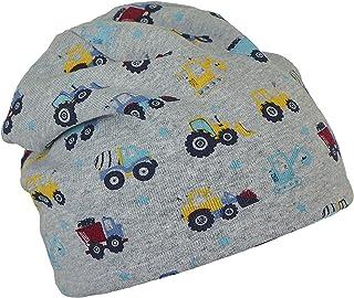 Sterntaler Baby-Jungen Slouch-Beanie LKW+Traktor Mütze