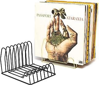 Rangement pour disques vinyles | Espace pour 35 disques | Support LP | Support en vinyle | Rangement de livres | Support p...