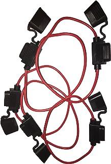 KOLACEN Bilbil lastbil inbyggd 16 mätare säkringshållare för bladtyp säkring Standard-Small