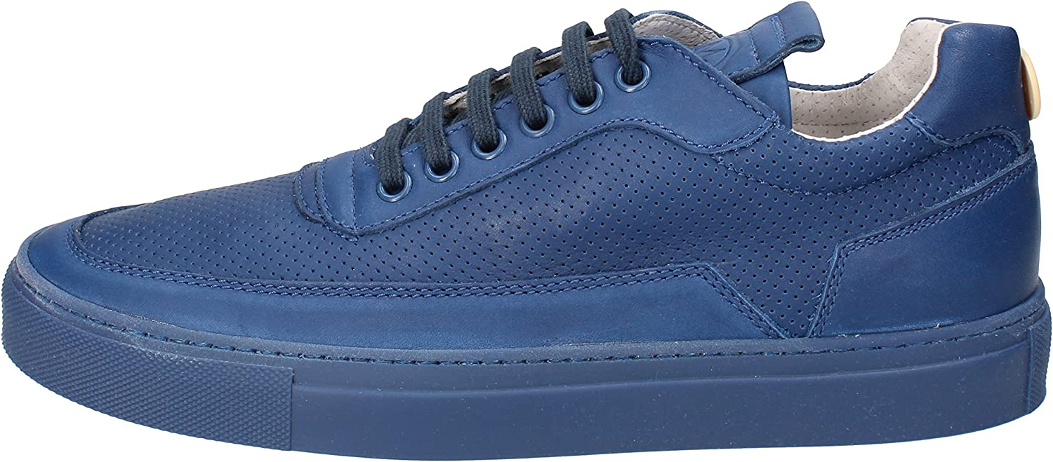 MARIANO DI VAIO Athletic-shoes Mens Leather bluee