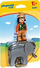 Playmobil Zookeeper with Elefant 9381 - Playset 1.2.3 Playmobil Baby Items