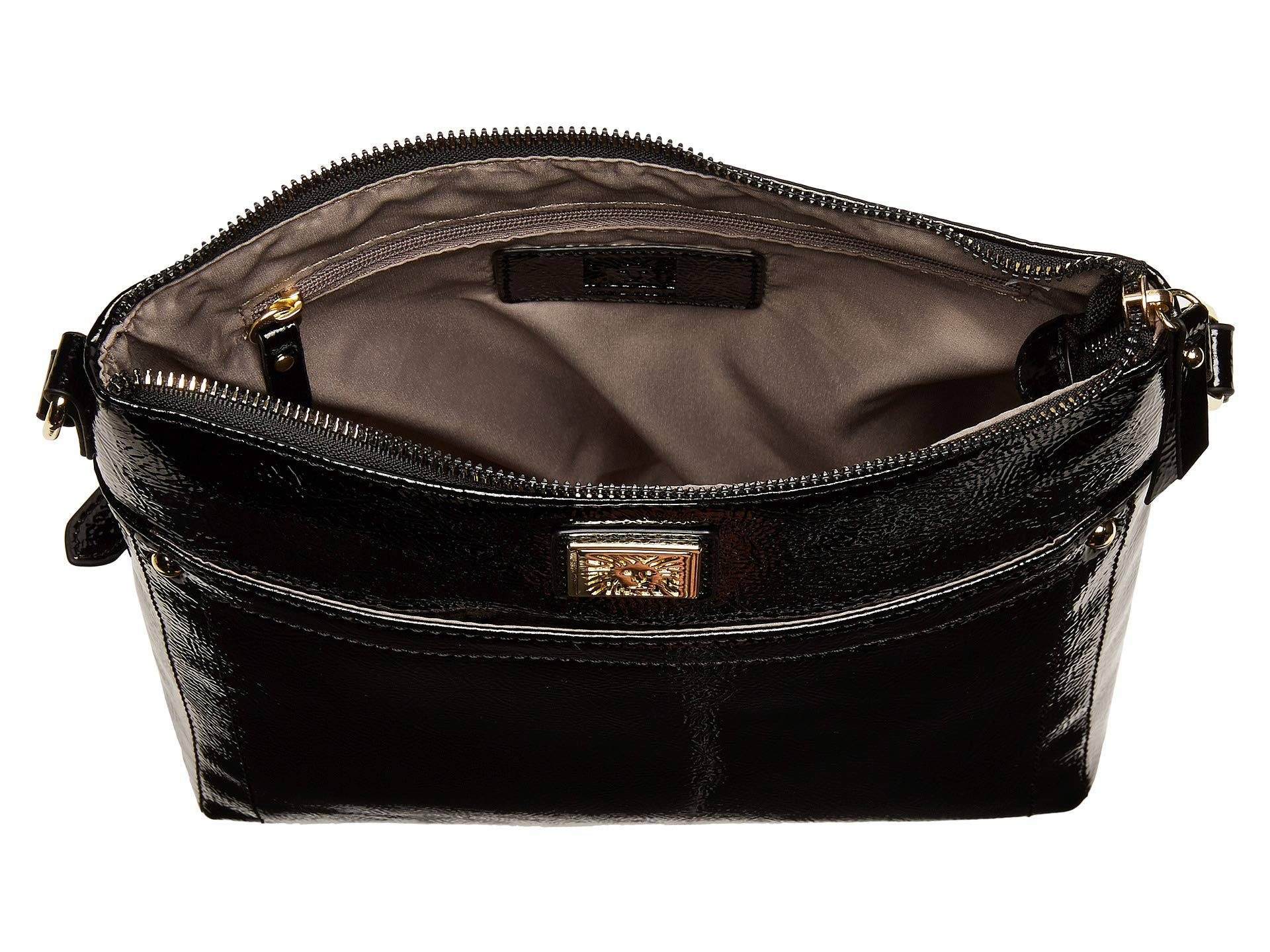 Crossbody Klein Black Crinkle Anne North south FSnIwA06