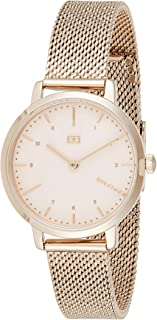 Tommy Hilfiger 1782042 Womens Quartz Watch, Analog Display and Stainless Steel Strap, Gold