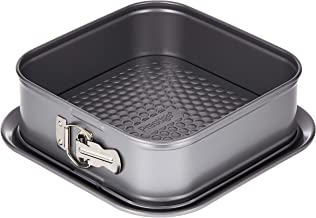 """Prestige Bakemaster 2/9"""" Square Spring Form Pan (51303 Grey)"""