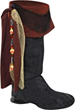 AMSCAN Deluxe Pirate Boot Tops Halloween Costume Accessories for Adults, One Size