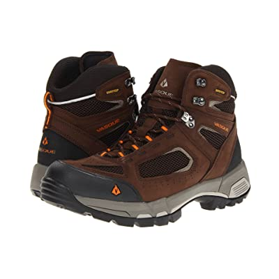 Vasque Breeze 2.0 GTX (Slate Brown / Russet Orange) Men