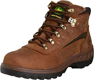 John Deere Men's Poplar WCT 5 NC Waterproof Lace Boot