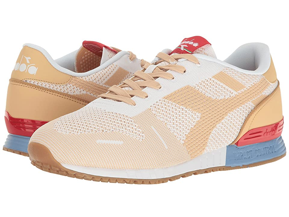 Diadora Titan Weave (White/Sheepskin) Athletic Shoes