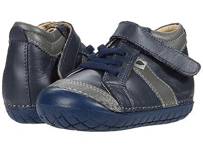 Old Soles Line Pave (Infant/Toddler) (Navy/Grey) Boy