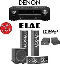Denon AVR-X3500H 7.2-Channel 4K Network AV Receiver + Elac F5.2 + Elac C6.2 + Elac A4.2 + Elac Sub3010-3.1.2-Ch Dolby Atmos Home Theater Package