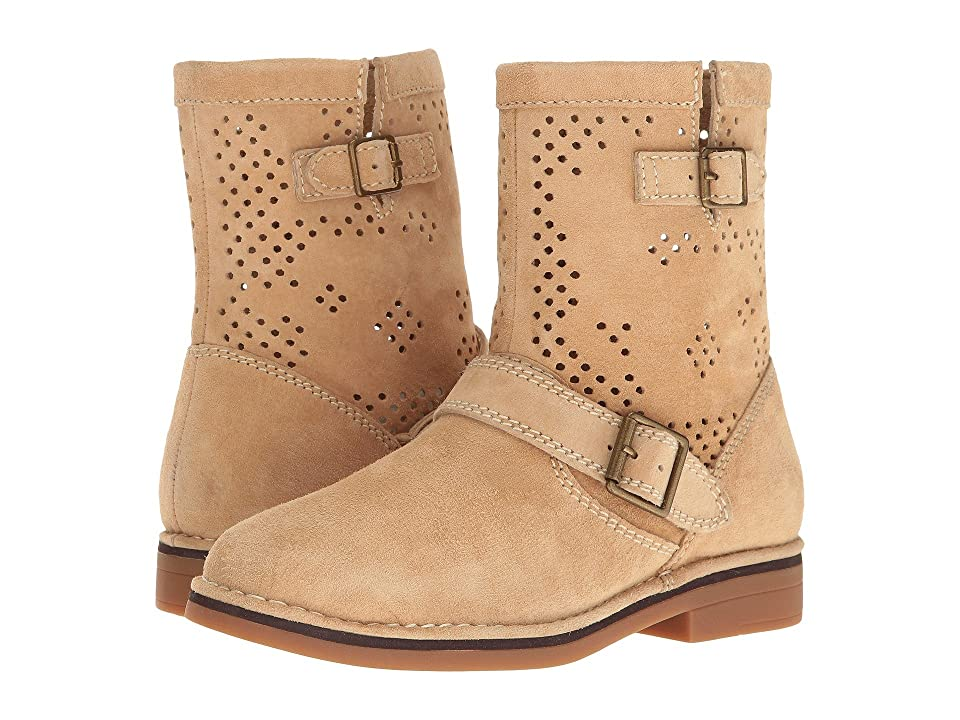 Hush Puppies Aydin Catelyn Perf (Light Tan Suede) Women