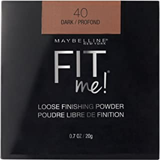 Maybelline New York Fit Me Loose Finishing Powder, Dark, 0.7 oz.