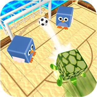 動物サッカー:面白いスタンピード - ペットサッカーシミュレータゲーム