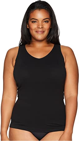 Plus Size Cotton Seamless Tank