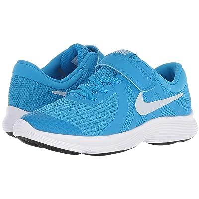 Nike Kids Revolution 4 (Little Kid) (Blue Hero/Pure Platinum/Blue Glow/Black) Boys Shoes