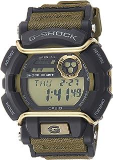 Casio Mens Quartz Watch, Digital Display and Silicone Strap
