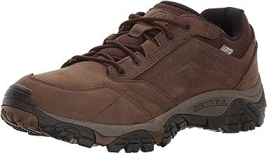 Merrell Men's Moab Adventure Lace Waterproof Hiking Shoe, Dark Earth, 14 W US