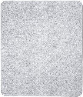 Wenko Herdabdeckplatte Universal 3 in 1, für alle Herdarten, Gehärtetes Glas, 50 x 1,8-4,5 x 56 cm, Transparent