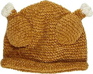 San Diego Hat Baby-Girls Newborn Chenile Turkey Hat