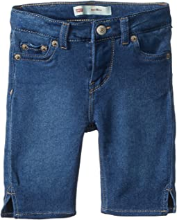 Levi's® Kids - 710™ Super Skinny Fit Soft and Silky Bermuda Shorts (Toddler)