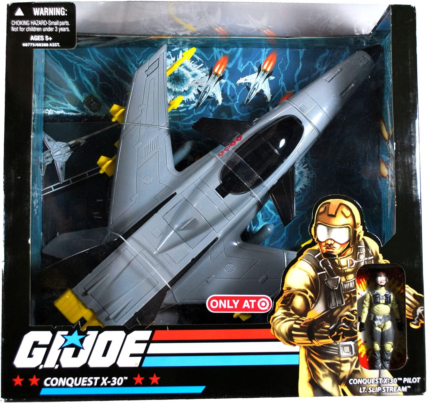 G.I. JOE Exclusive Deluxe Cheap Vehicle Conquest with Slip Popular Lt. X-30 St