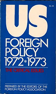 U.S. foreign policy, 1972-1973