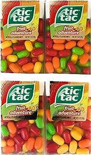 Tic Tac Fruit Adventure Mints | Fruity Mints by Tic Tac | 1 oz Pack | 4 Packs
