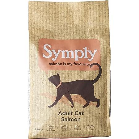 シンプリー キャット フード (1.5kg) グレインフリー 穀物 香料 着色料 不使用 サーモン ニシン マス 全猫種 全年齢 対応