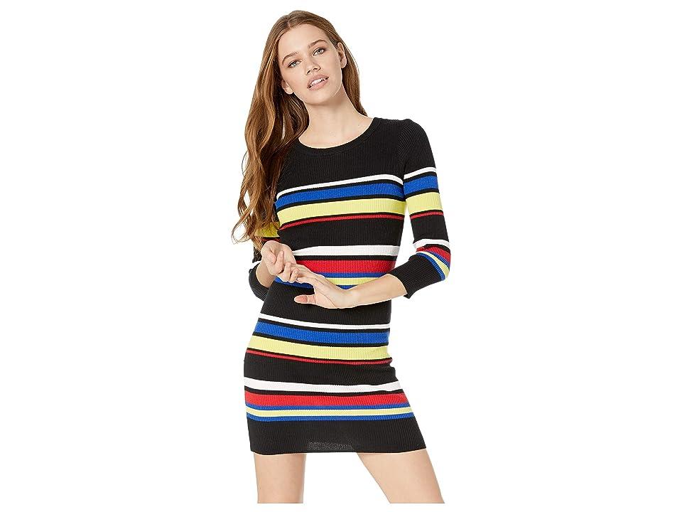 Sanctuary Trailblaze Sweater Dress (Multi Stripe) Women