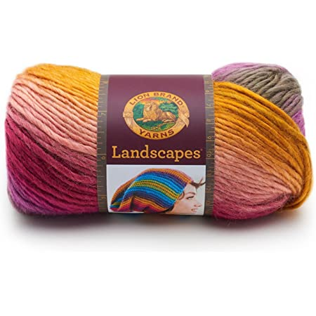 Coral Reef, Lion Brand Yarn 545-211 Landscapes Yarn