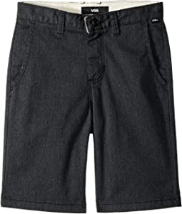 Vans Kids Authentic Stretch Shorts (Little Kids/Big Kids)