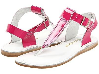 Salt Water Sandal by Hoy Shoes Sun-San T-Thongs (Toddler/Little Kid) (Shiny Fuchsia) Girls Shoes