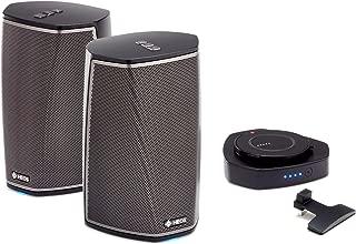 Denon Wireless Audio Multiroom Digital Music System, Black (HEOS1+1+GOBK), Compatible with Alexa