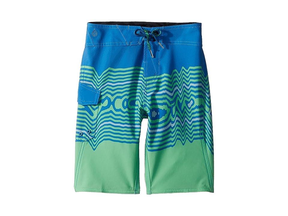 Volcom Kids Lido Vibes Mod Boardshorts (Big Kids) (Free Blue) Boy