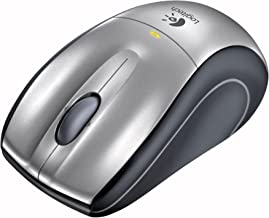 Logitech V320 Cordless Optical Mouse for Notebooks- Grey