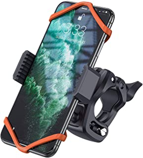 Bike Phone Mount, WixGear Universal Bike Phone Holder and Motorcycle Phone Mount, Phone Holder for Bike Handlebars Adjusta...