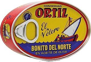 Ortiz Bonito Del Norte - White Tuna in Olive Oil, 3.95-Ounce Tins (Pack of 4)